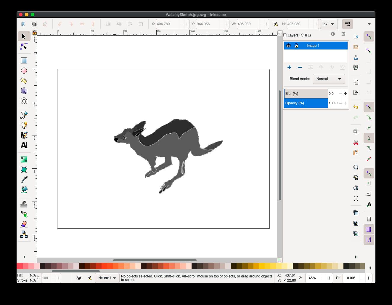 Inkscape is a surprisingly powerful program